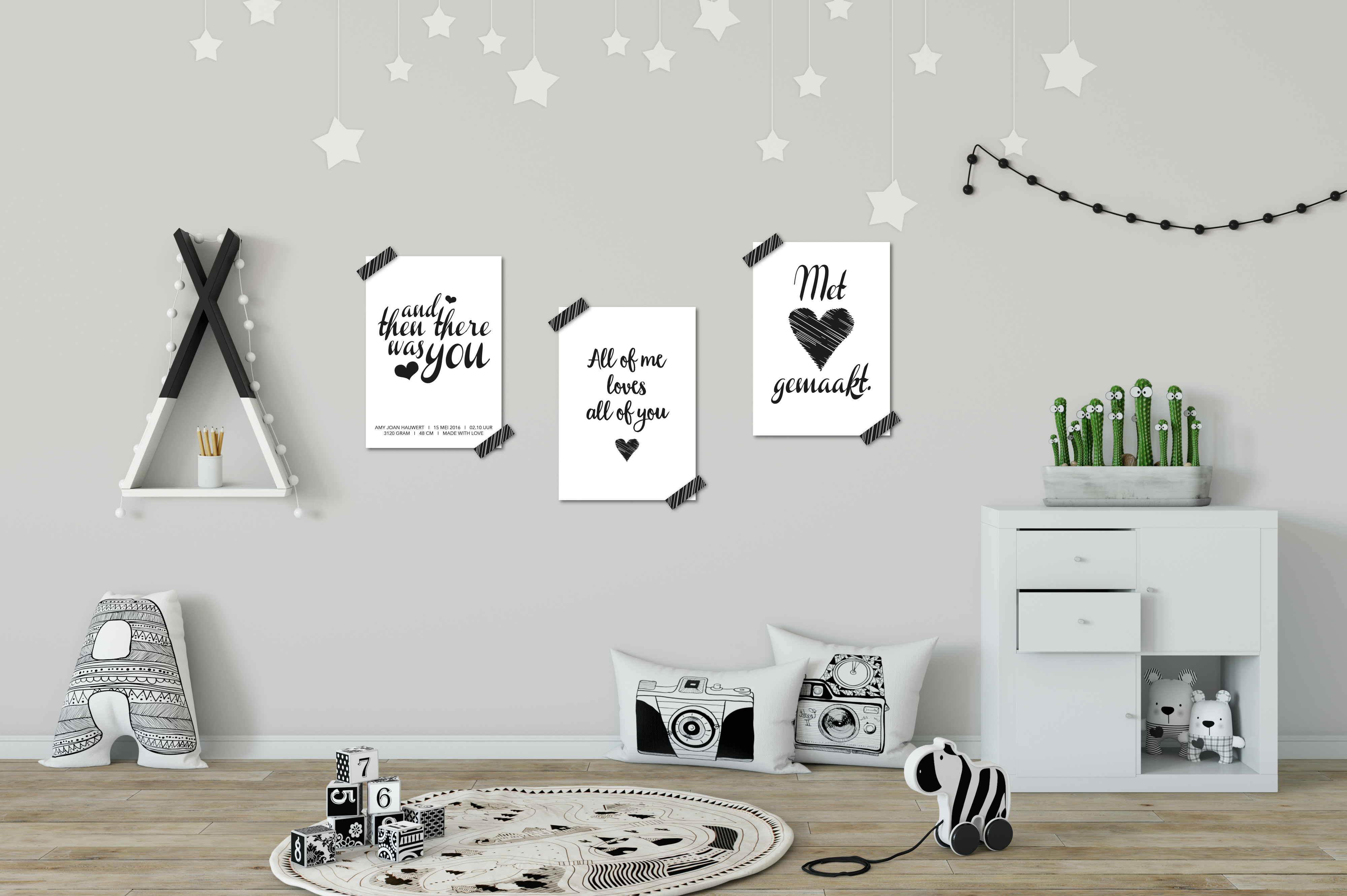 Posters voorbeeld Zusje-van Webshop