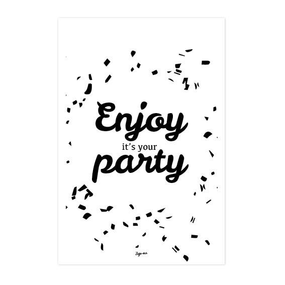 Enjoy it's your party Zusje-van Webshop